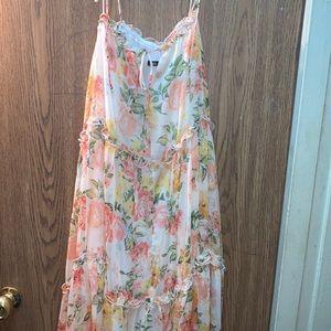 Zara baby doll floral dress size xs/s